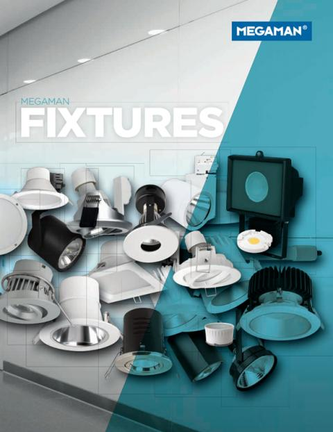 Megaman Launch NEW Fixtures Catalogue