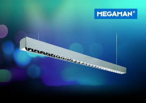 MEGAMAN® Introduces GABIO LED Pendant Louvre
