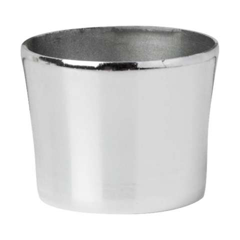 Decorative Snap-on Base Cap Silver E14/B15