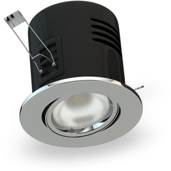 VersoFIT Tilt Fire Rated Downlighters
